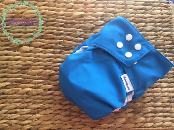 Rapid Dry AI2 Nappy OSFM 4-18kg Blueberry