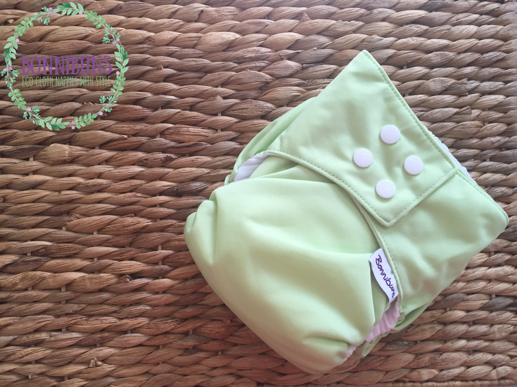 Rapid Dry AI2 Nappy OSFM 4-18kg Green Apple